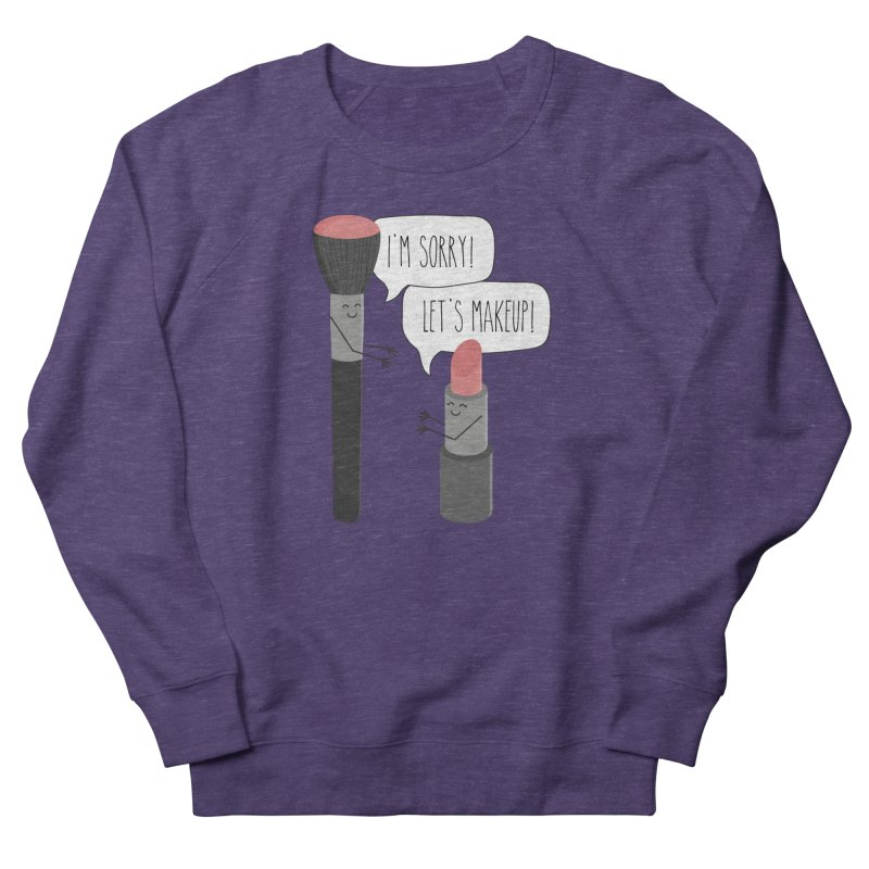 Let's Makeup Men's Sweatshirt by CardyHarHar's Artist Shop