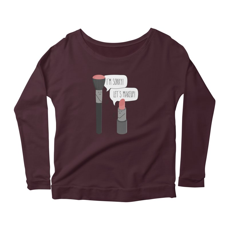 Let's Makeup Women's Longsleeve T-Shirt by CardyHarHar's Artist Shop