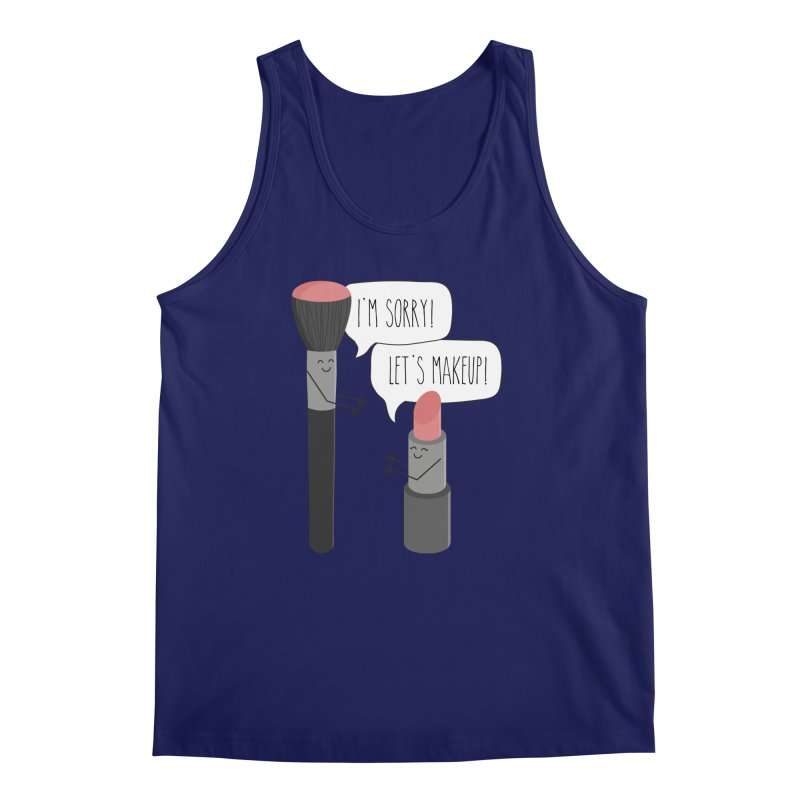 Let's Makeup Men's Regular Tank by CardyHarHar's Artist Shop