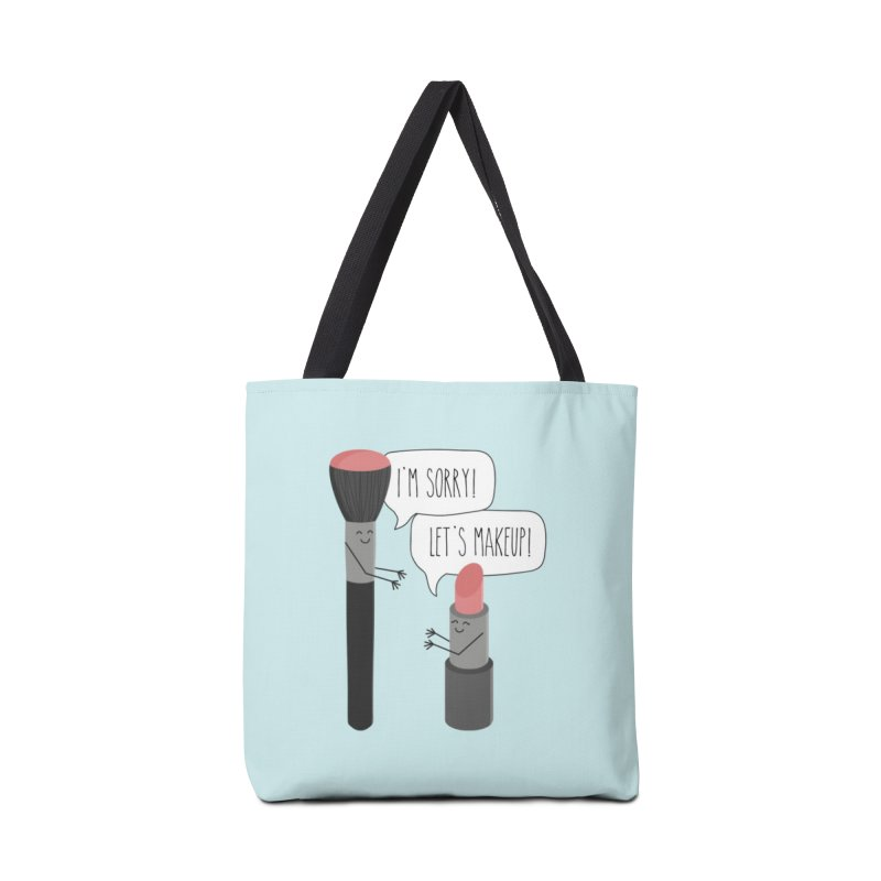 Let's Makeup Accessories Tote Bag Bag by CardyHarHar's Artist Shop