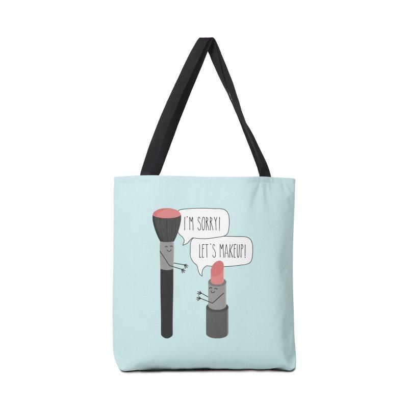 Let's Makeup Accessories Bag by CardyHarHar's Artist Shop