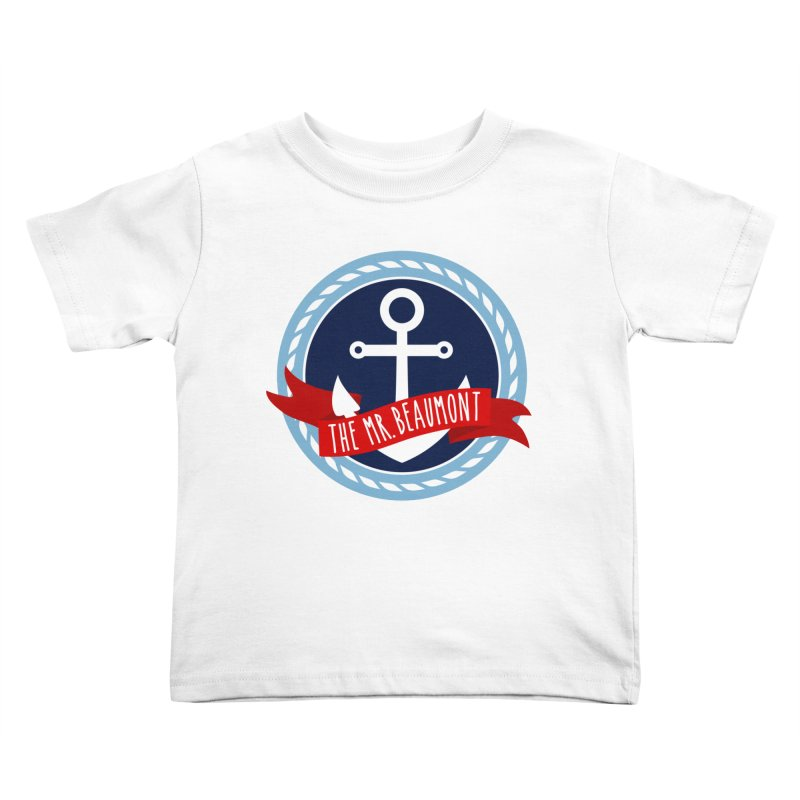 The Mr. Beaumont Kids Toddler T-Shirt by CardyHarHar's Artist Shop