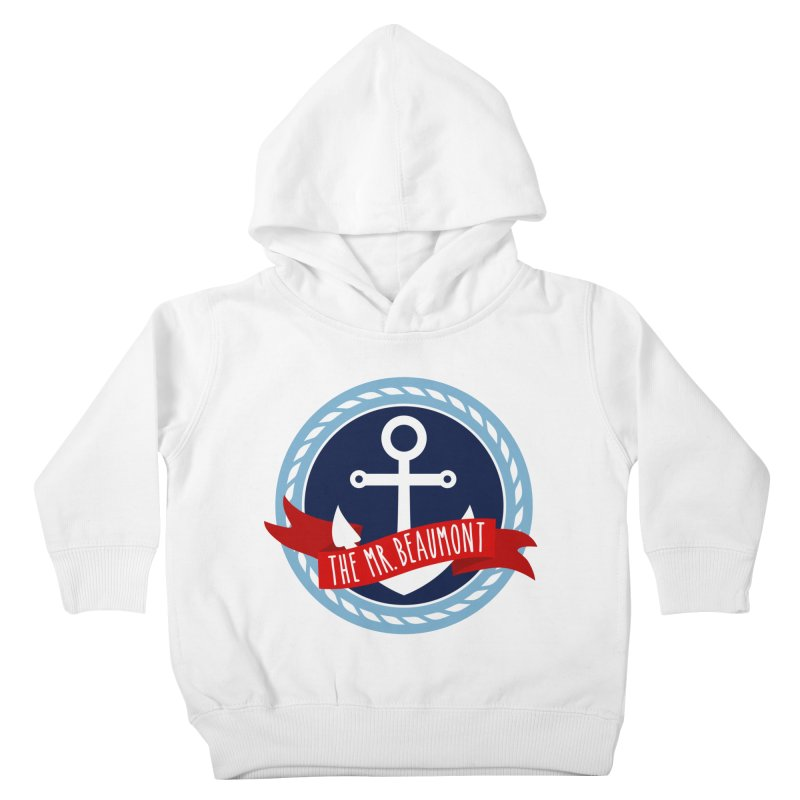 The Mr. Beaumont Kids Toddler Pullover Hoody by CardyHarHar's Artist Shop
