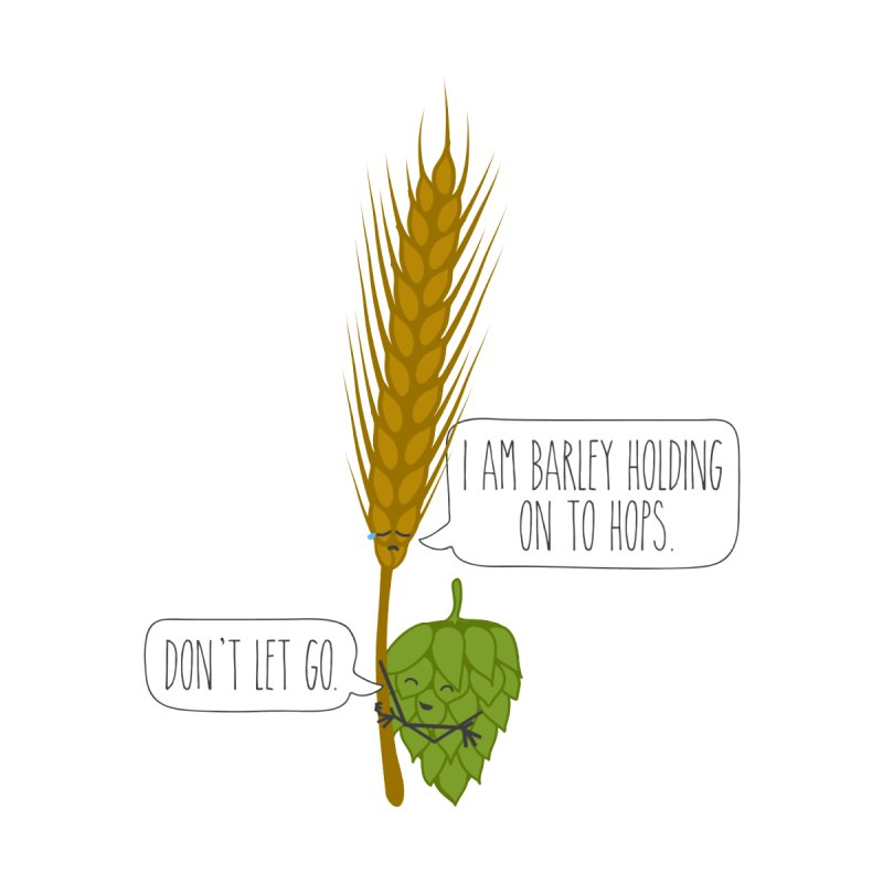 Barley and Hops Accessories Sticker by CardyHarHar's Artist Shop