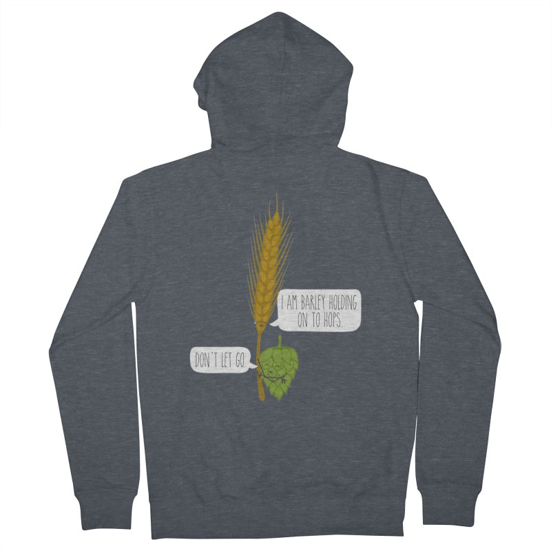 Barley and Hops Women's Zip-Up Hoody by CardyHarHar's Artist Shop