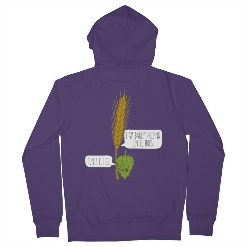 Barley and Hops Women's Zip-Up Hoody by CardyHarHar's Artist Shop