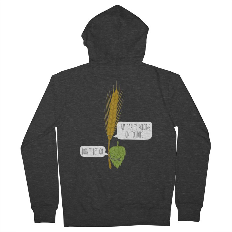 Barley and Hops Men's Zip-Up Hoody by CardyHarHar's Artist Shop