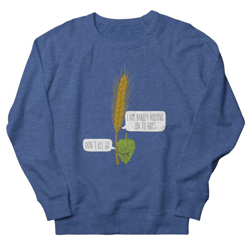 Barley and Hops Men's Sweatshirt by CardyHarHar's Artist Shop