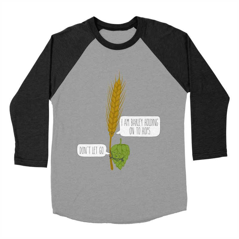 Barley and Hops Women's Longsleeve T-Shirt by CardyHarHar's Artist Shop