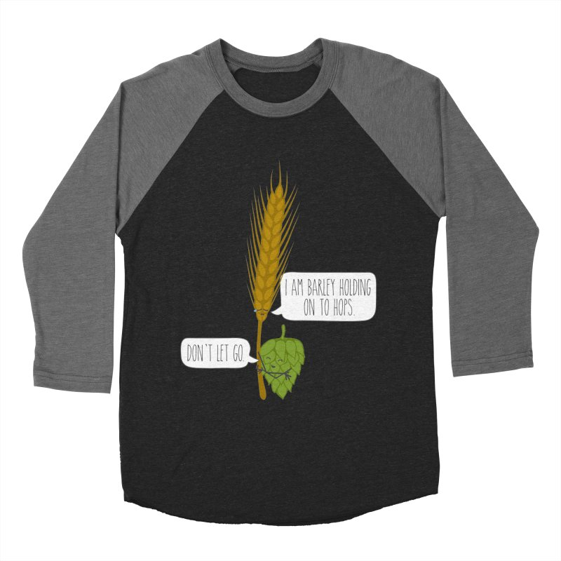Barley and Hops Men's Longsleeve T-Shirt by CardyHarHar's Artist Shop
