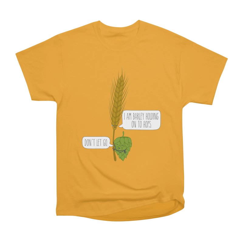 Barley and Hops Men's Heavyweight T-Shirt by CardyHarHar's Artist Shop