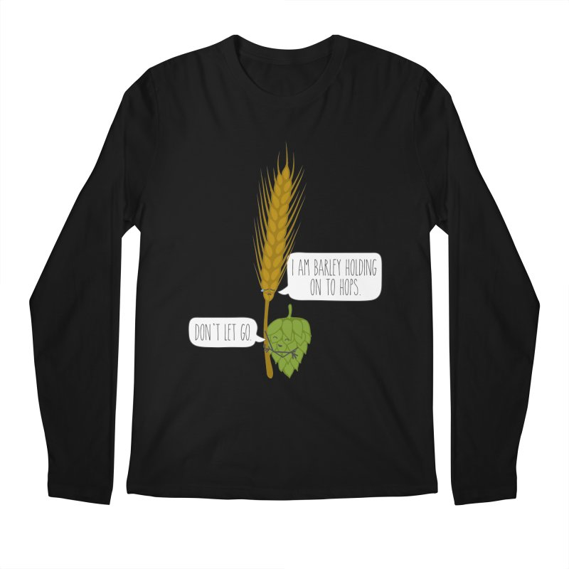 Barley and Hops Men's Regular Longsleeve T-Shirt by CardyHarHar's Artist Shop