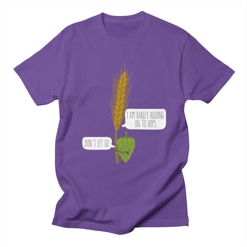 Barley and Hops Men's Regular T-Shirt by CardyHarHar's Artist Shop