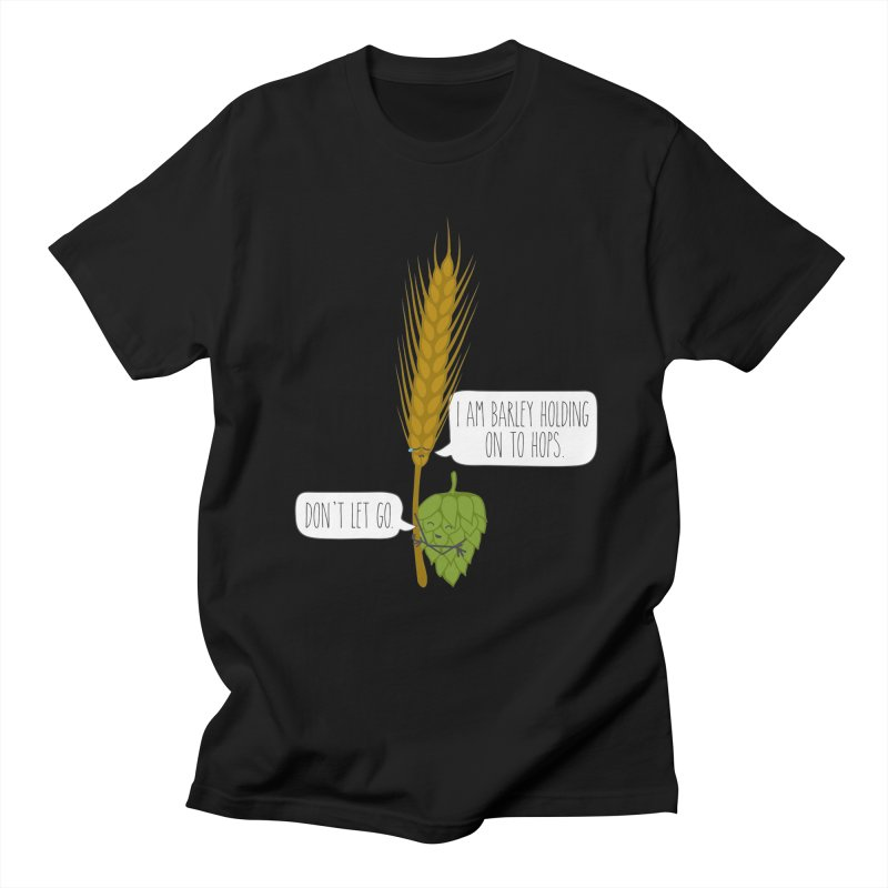 Barley and Hops Men's Regular T-Shirt by CardyHarHar's Artist Shop