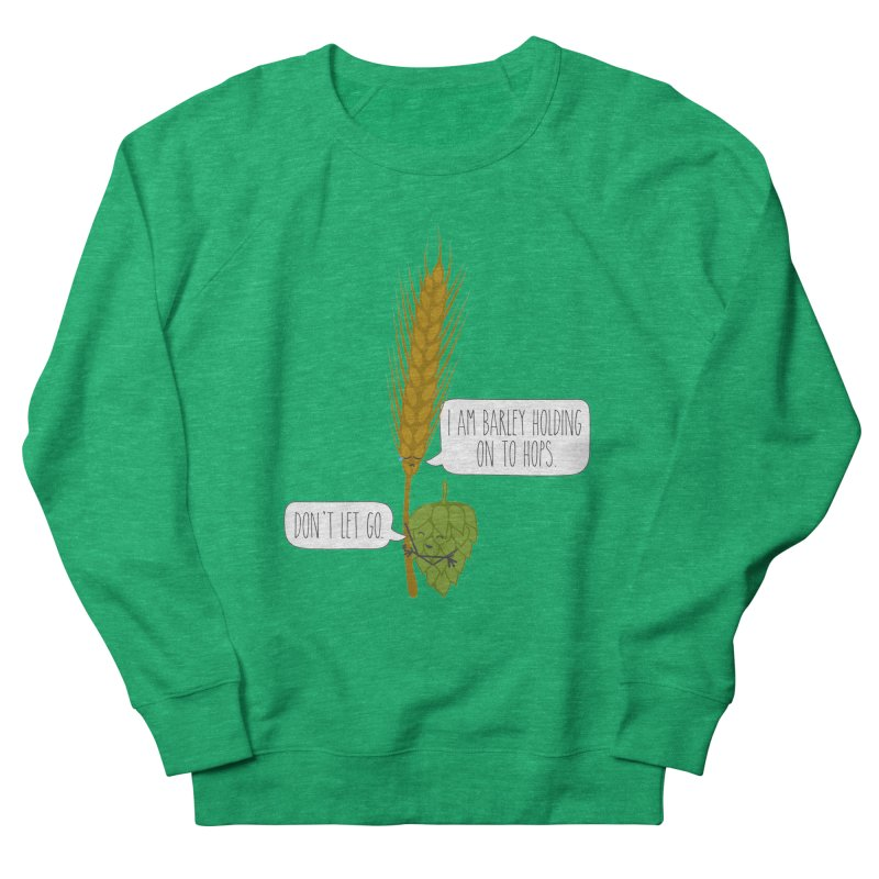 Barley and Hops Women's Sweatshirt by CardyHarHar's Artist Shop