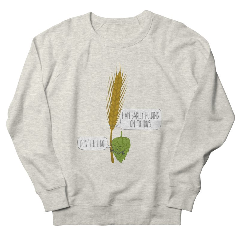 Barley and Hops Men's French Terry Sweatshirt by CardyHarHar's Artist Shop
