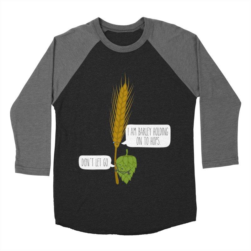 Barley and Hops Women's Baseball Triblend Longsleeve T-Shirt by CardyHarHar's Artist Shop