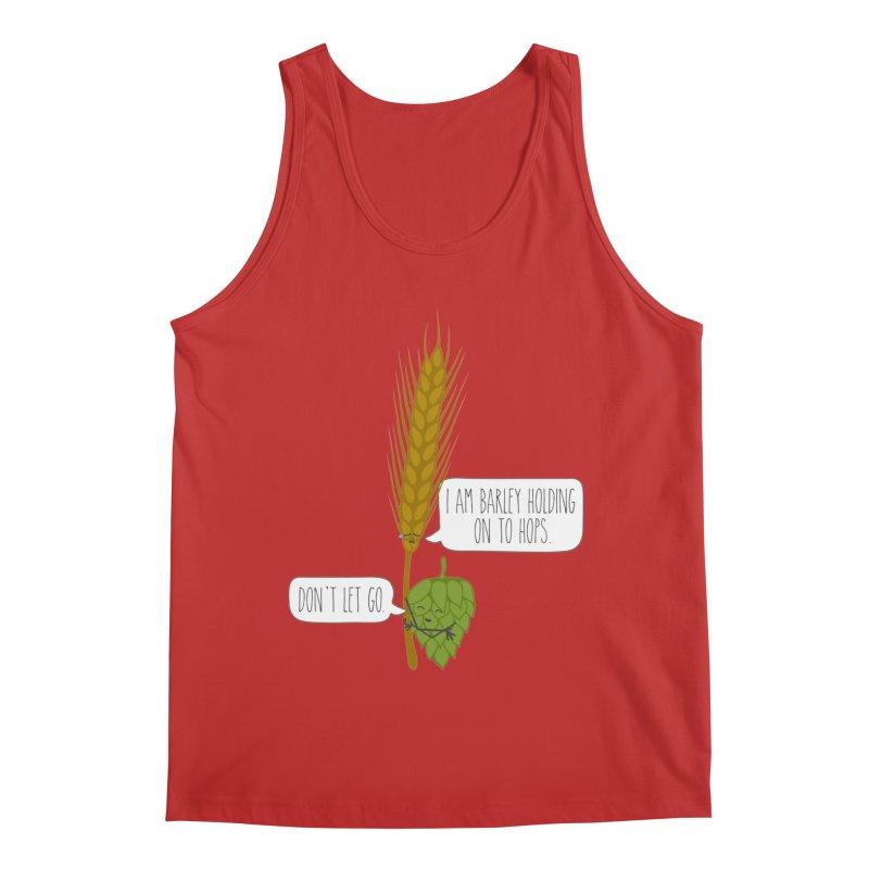 Barley and Hops Men's Regular Tank by CardyHarHar's Artist Shop