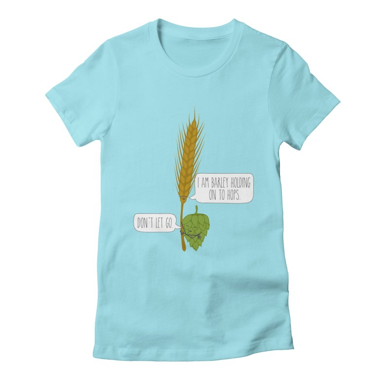 Barley and Hops Women's T-Shirt by CardyHarHar's Artist Shop