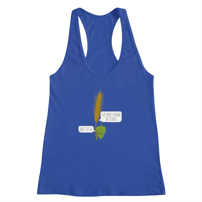 Barley and Hops Women's Racerback Tank by CardyHarHar's Artist Shop