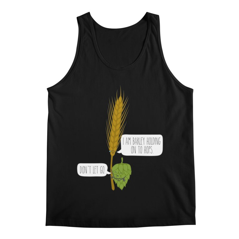 Barley and Hops Men's Tank by CardyHarHar's Artist Shop