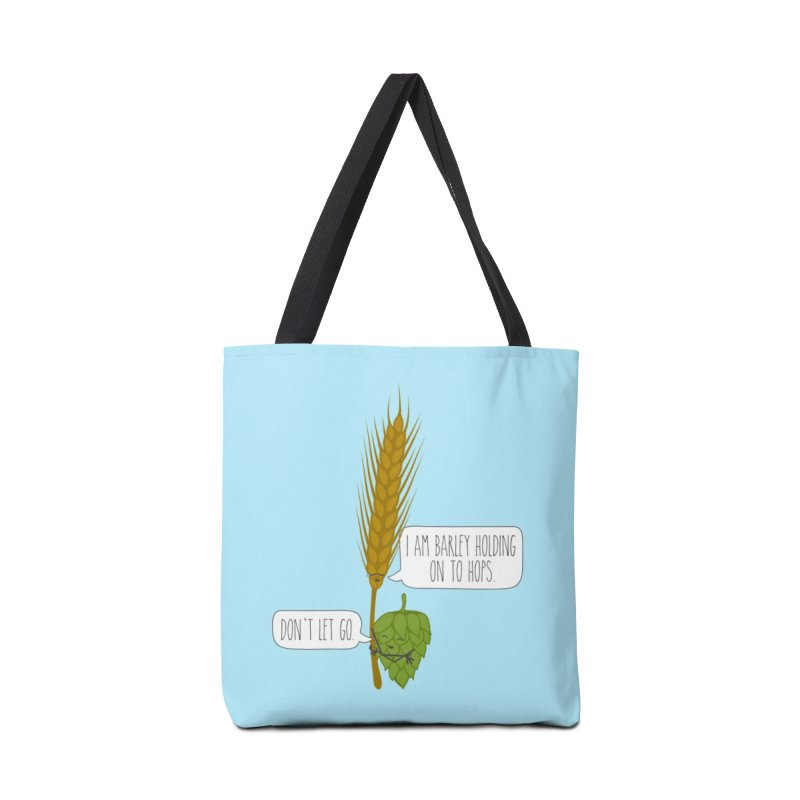 Barley and Hops Accessories Tote Bag Bag by CardyHarHar's Artist Shop