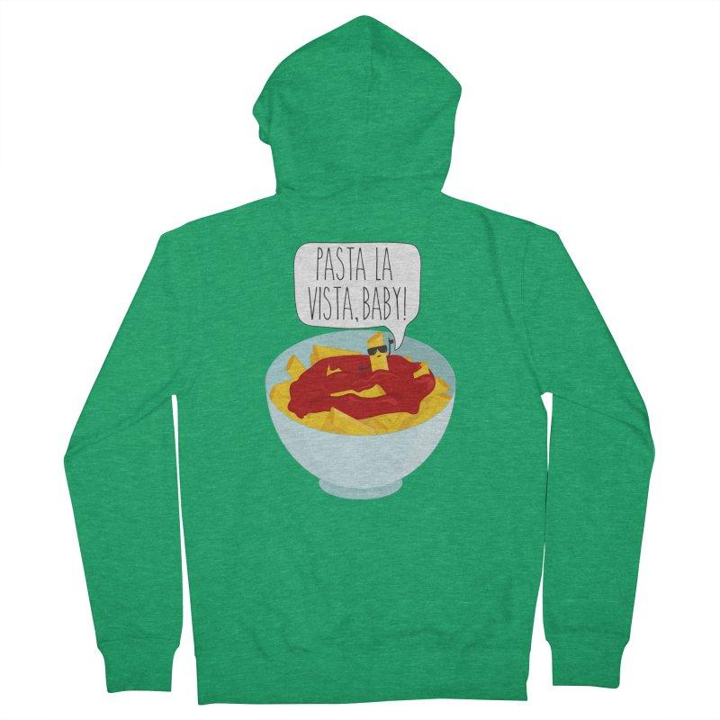 Pasta La Vista, Baby Men's Zip-Up Hoody by CardyHarHar's Artist Shop