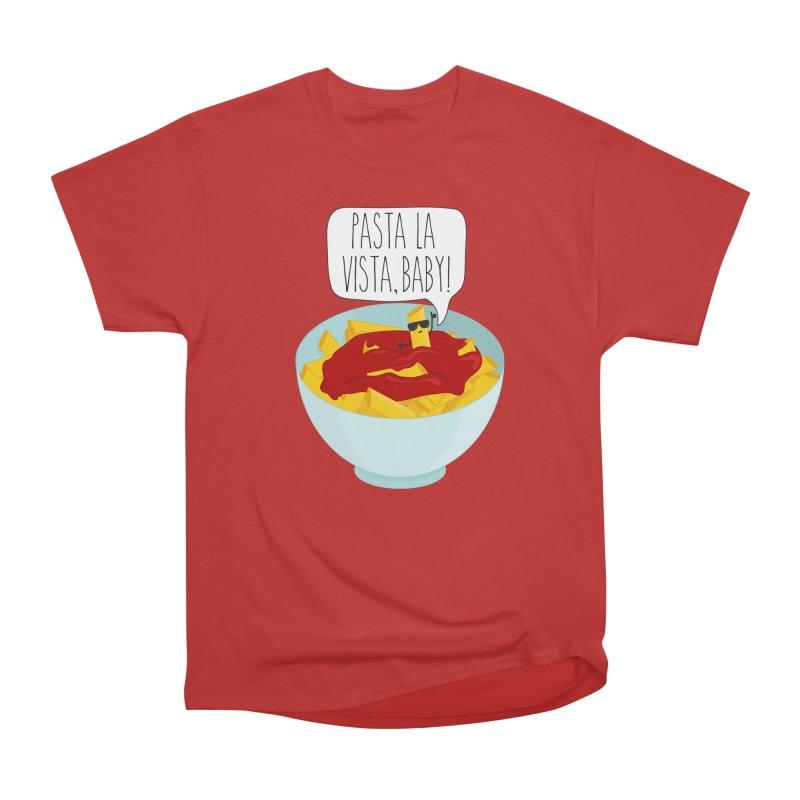 Pasta La Vista, Baby Men's Heavyweight T-Shirt by CardyHarHar's Artist Shop
