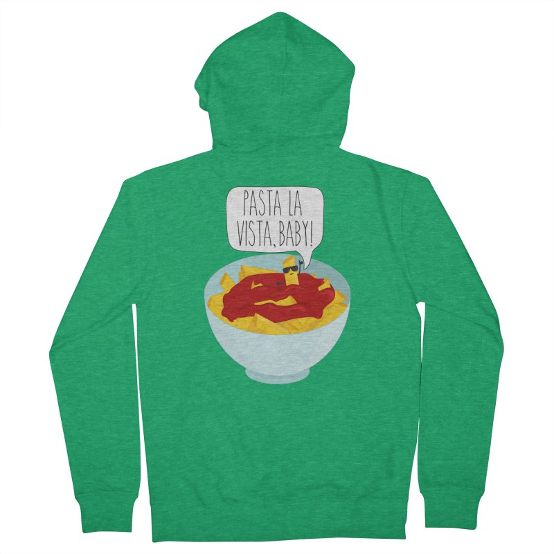 Pasta La Vista, Baby Women's Zip-Up Hoody by CardyHarHar's Artist Shop