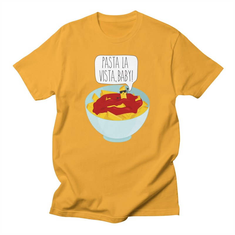 Pasta La Vista, Baby Men's T-Shirt by CardyHarHar's Artist Shop
