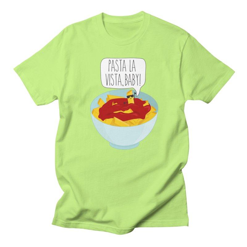 Pasta La Vista, Baby Men's Regular T-Shirt by CardyHarHar's Artist Shop