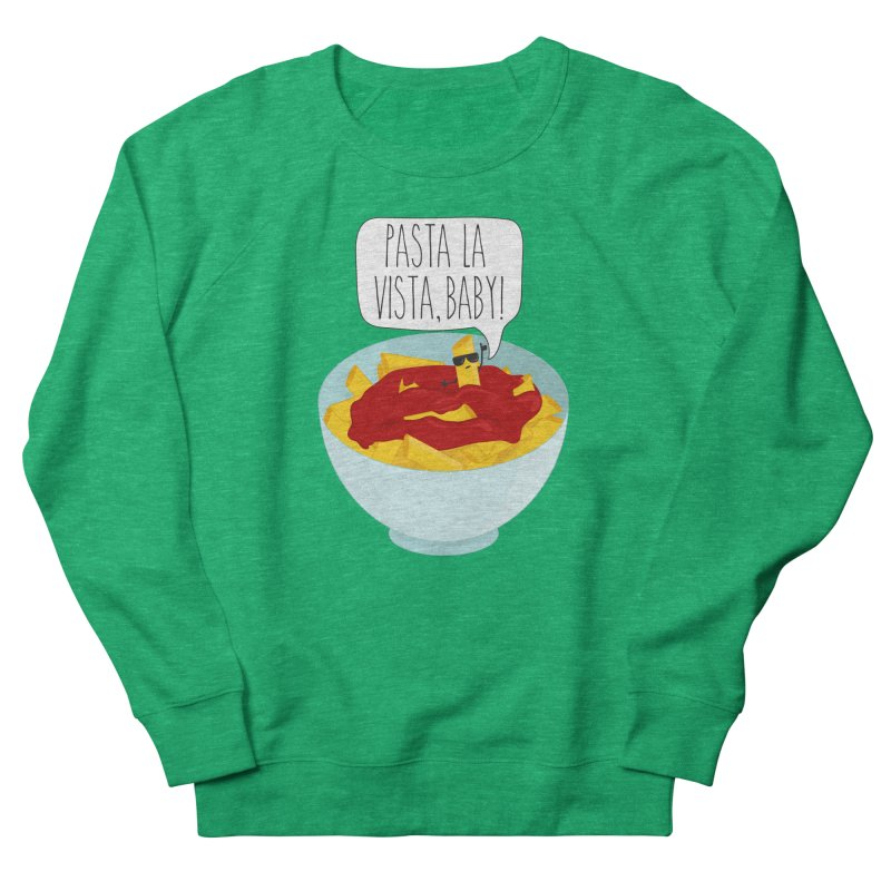 Pasta La Vista, Baby Men's French Terry Sweatshirt by CardyHarHar's Artist Shop