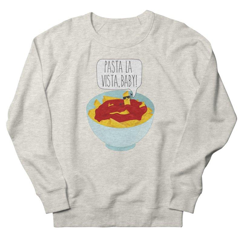 Pasta La Vista, Baby Men's French Terry Sweatshirt by CardyHarHar's Artist Shop