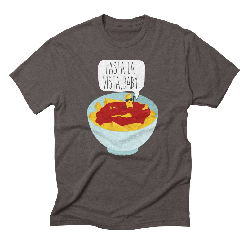 Pasta La Vista, Baby Men's Triblend T-Shirt by CardyHarHar's Artist Shop