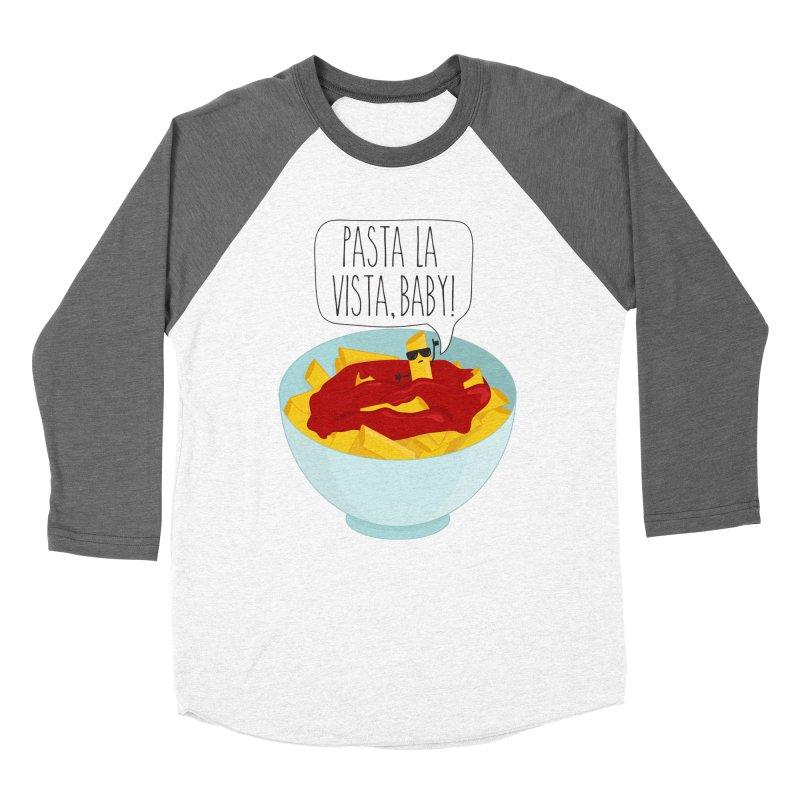 Pasta La Vista, Baby Women's Baseball Triblend Longsleeve T-Shirt by CardyHarHar's Artist Shop