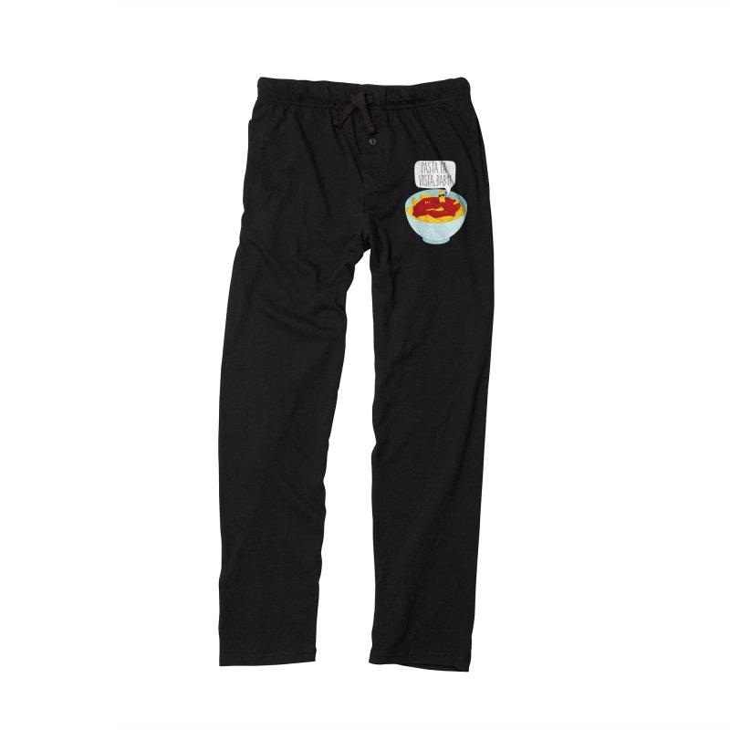 Pasta La Vista, Baby Men's Lounge Pants by CardyHarHar's Artist Shop