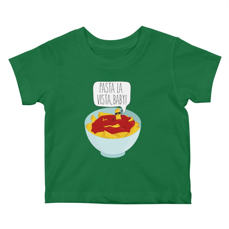 Pasta La Vista, Baby Kids Baby T-Shirt by CardyHarHar's Artist Shop
