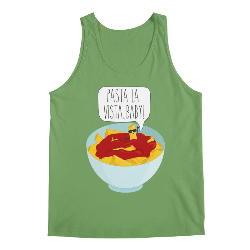 Pasta La Vista, Baby Men's Tank by CardyHarHar's Artist Shop