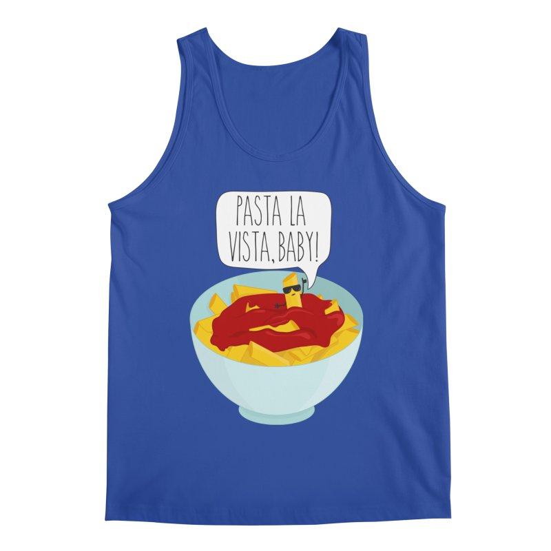 Pasta La Vista, Baby Men's Regular Tank by CardyHarHar's Artist Shop
