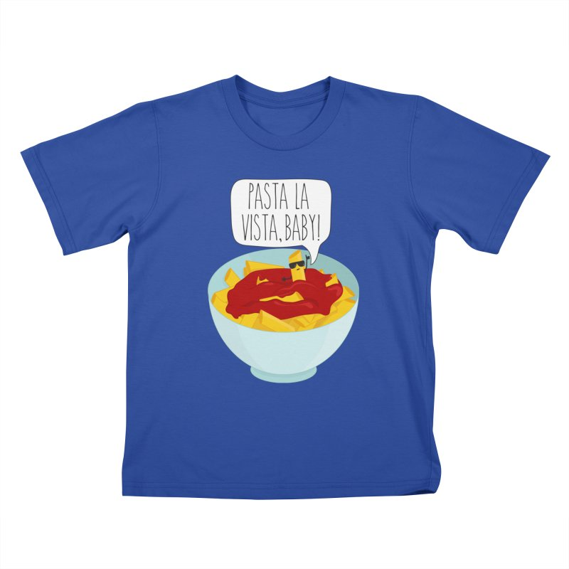 Pasta La Vista, Baby Kids T-Shirt by CardyHarHar's Artist Shop