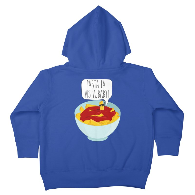 Pasta La Vista, Baby Kids Toddler Zip-Up Hoody by CardyHarHar's Artist Shop