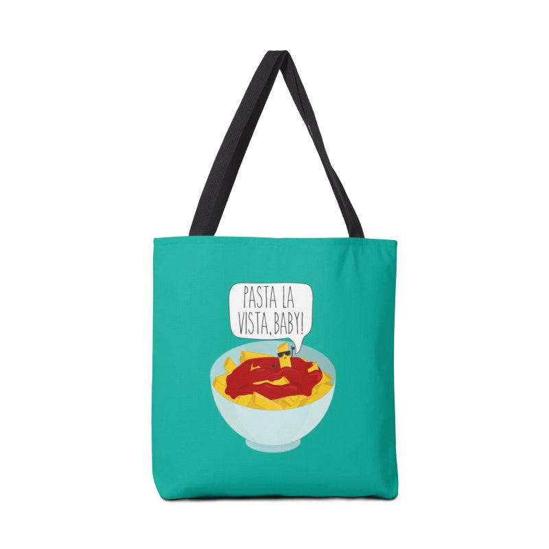 Pasta La Vista, Baby Accessories Tote Bag Bag by CardyHarHar's Artist Shop