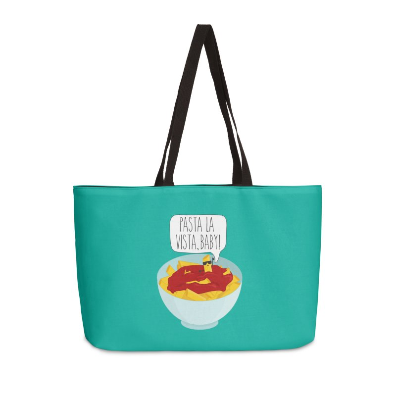 Pasta La Vista, Baby Accessories Bag by CardyHarHar's Artist Shop