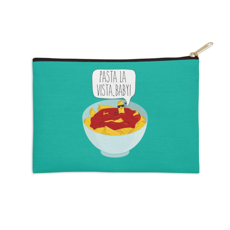 Pasta La Vista, Baby Accessories Zip Pouch by CardyHarHar's Artist Shop