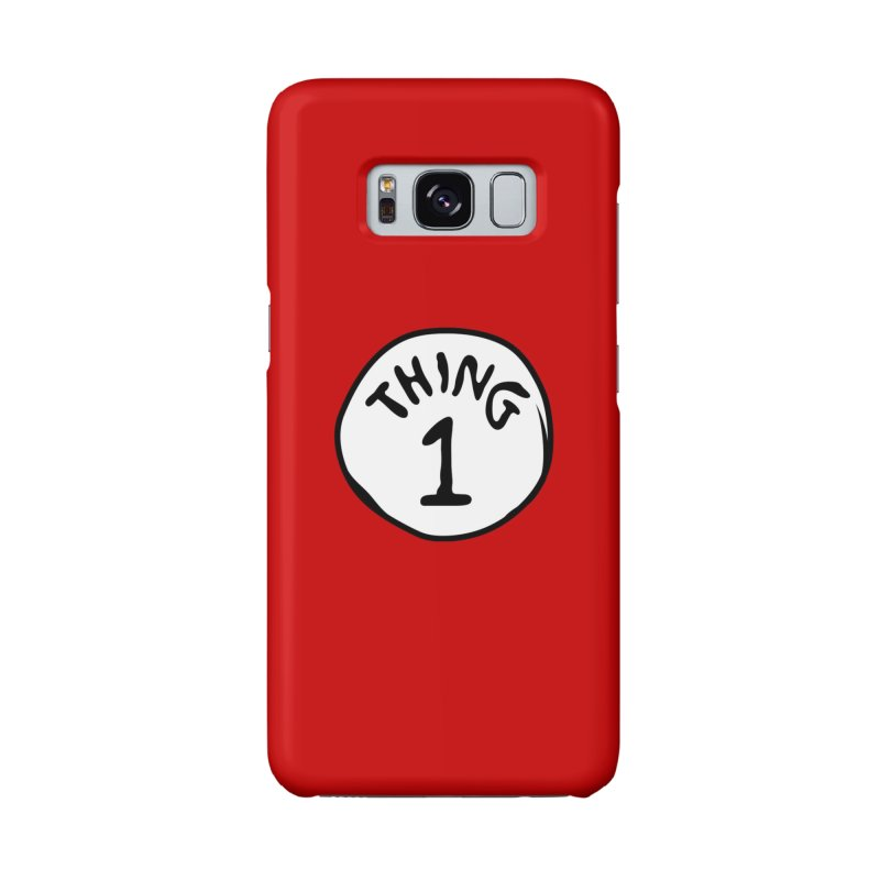 Thing 1 Accessories Phone Case by CardyHarHar's Artist Shop