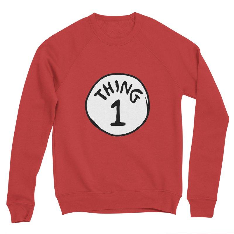 Thing 1 Men's Sweatshirt by CardyHarHar's Artist Shop