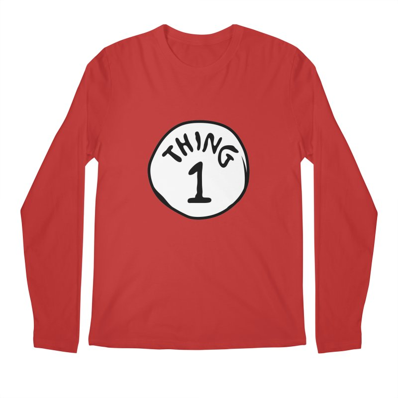 Thing 1 Men's Longsleeve T-Shirt by CardyHarHar's Artist Shop