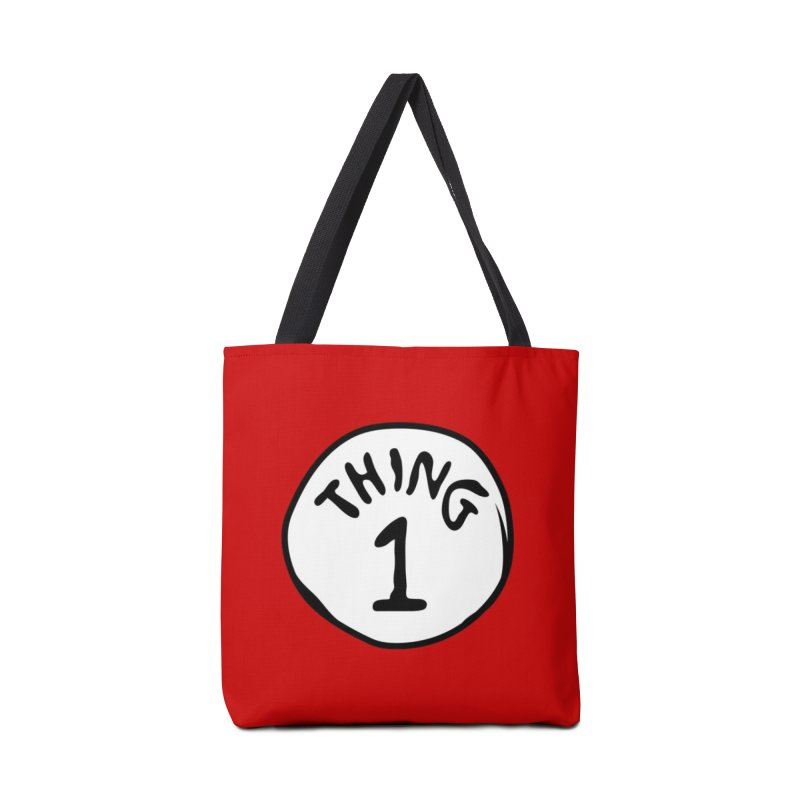 Thing 1 Accessories Tote Bag Bag by CardyHarHar's Artist Shop