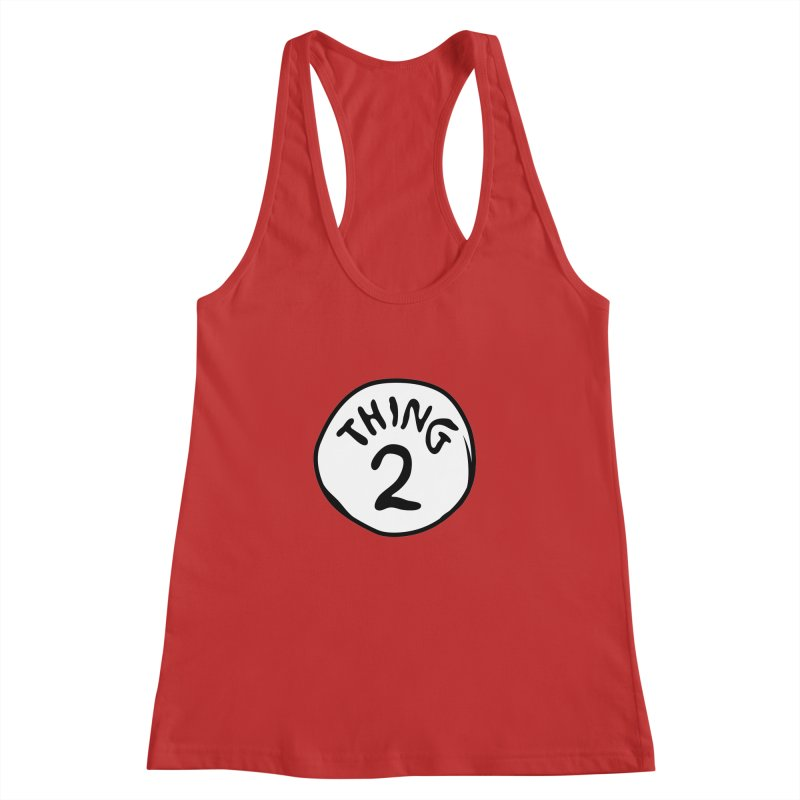 Thing 2 Women's Racerback Tank by CardyHarHar's Artist Shop