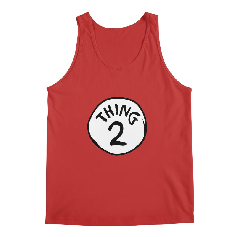 Thing 2 Men's Regular Tank by CardyHarHar's Artist Shop